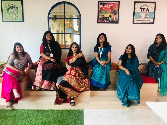 Traditional Day in QK Office