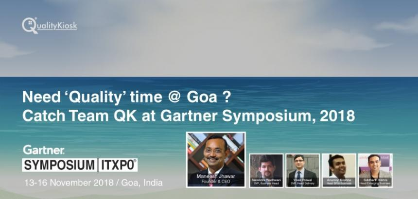 QualityKiosk Participates in Gartner Conference in Goa