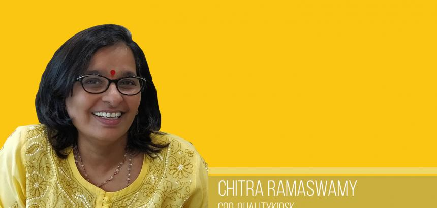 CHITRA RAMASWAMY, COO OF QUALITYKIOSK INTERACTS WITH ANALYTICS INDIA MAGAZINE ON WOMEN'S DAY