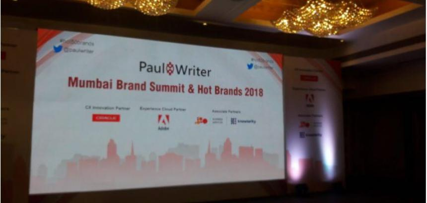 Mumbai Brand Summit & Hot Brands 2018 - QualityKiosk recognized for Innovative Use of Technology