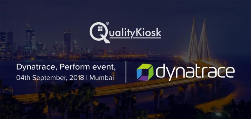 QualityKiosk delivers Performance at Dynatrace Perform Mumbai