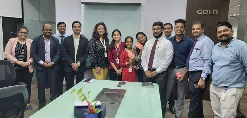 QualityKiosk Conducts Rewards & Recognition Program [R&R] at Yes Bank