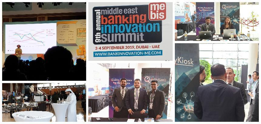 QUALITYKIOSK PARTICIPATES IN 9TH ANNUAL MIDDLE EAST BANKING INNOVATION SUMMIT 2019